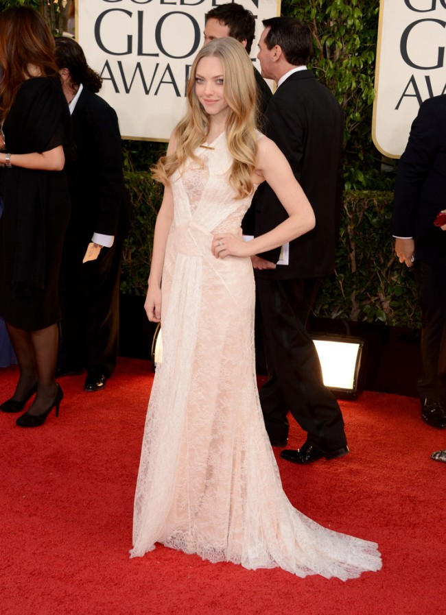 globes3 Amanda Seyfried Named Face of Very Irresistible Givenchy