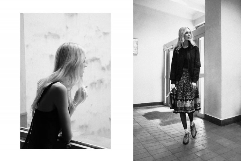 "Hannare Blaauboer by Anne Combaz in ""Novosibirsk"" for Fashion Gone Rogue"