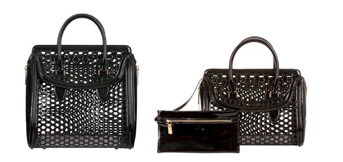 heroine Alexander McQueen Heroine Bag Collection for Spring/Summer 2013