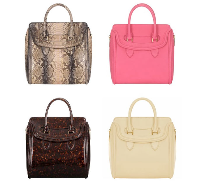 heroine2 Alexander McQueen Heroine Bag Collection for Spring/Summer 2013