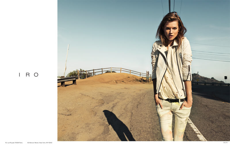 Kasia Struss Tapped for Iro Spring 2013 Campaign by Knoepfel & Indlekofer
