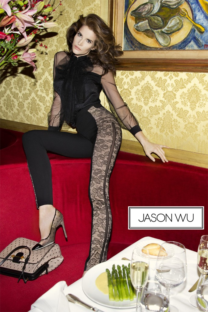 jason wu Stephanie Seymour Stars in Jason Wu Spring 2013 Campaign by Inez & Vinoodh