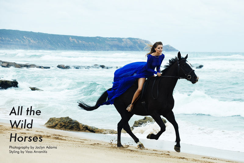 "Juliana Forge by Jaclyn Adams in ""All the Wild Horses"" for Fashion Gone Rogue"