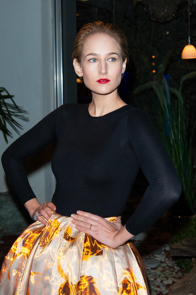 leelee1 Leelee Sobieski in Dior at the Sidaction Gala Dinner