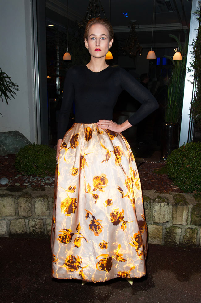 leelee3 Leelee Sobieski in Dior at the Sidaction Gala Dinner