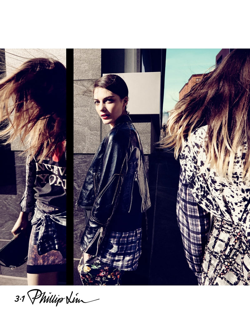 phillip1 3.1 Phillip Lim Launches First Campaign for Spring 2013 Starring Katryn Kruger and Franzi Mueller