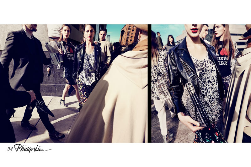 phillip2 3.1 Phillip Lim Launches First Campaign for Spring 2013 Starring Katryn Kruger and Franzi Mueller