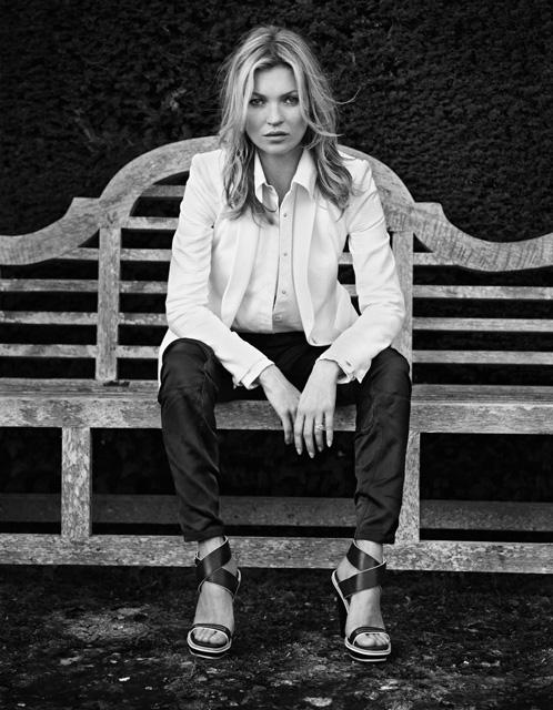 Kate Moss Returns to England for Rag & Bone's Spring 2013 Campaign