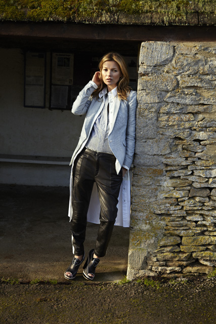 ragbone3 Kate Moss Returns to England for Rag & Bones Spring 2013 Campaign