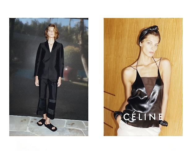 Daria Werbowy Lands Celine Spring 2013 Campaign by Juergen Teller