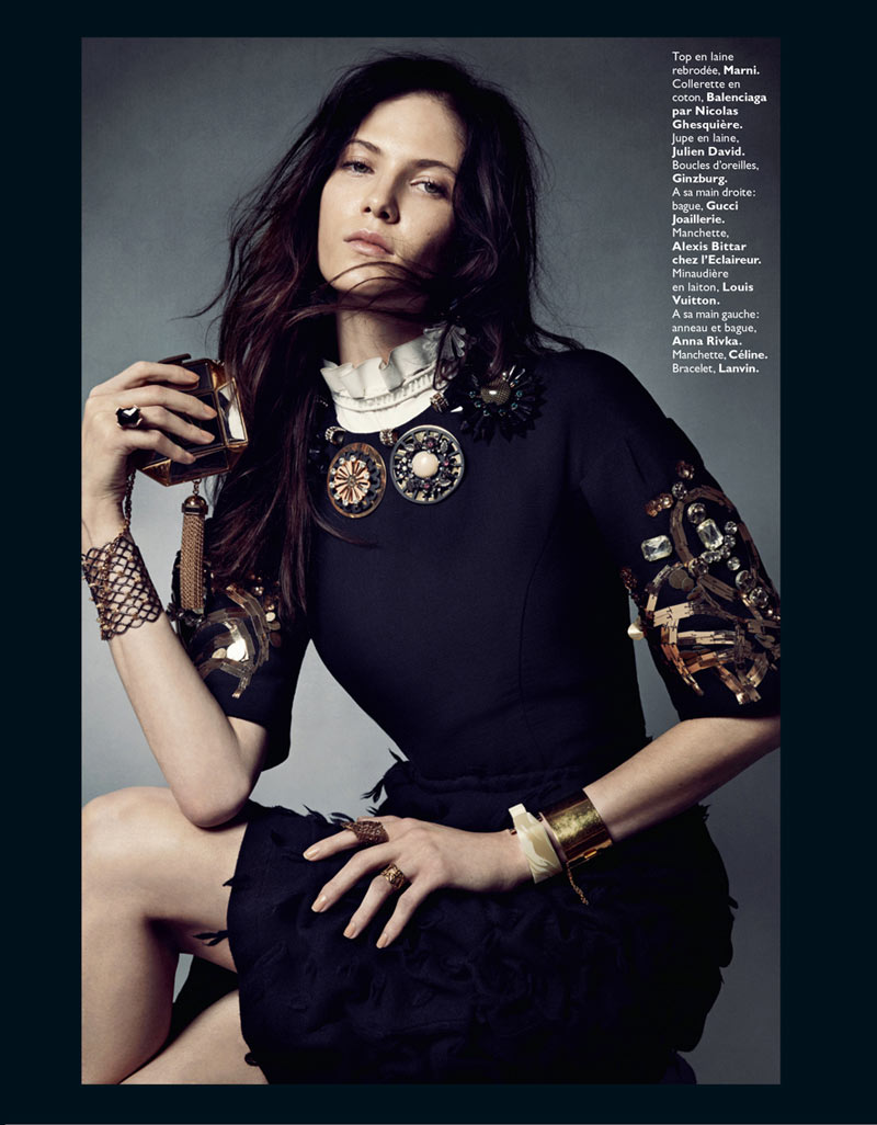 0170 MODE Baroq bat 3 2a Honer Akrawi Captures Maria Flávia Ferrari and Alexandra Tikerpuu in Baroque Luxe for Grazia France
