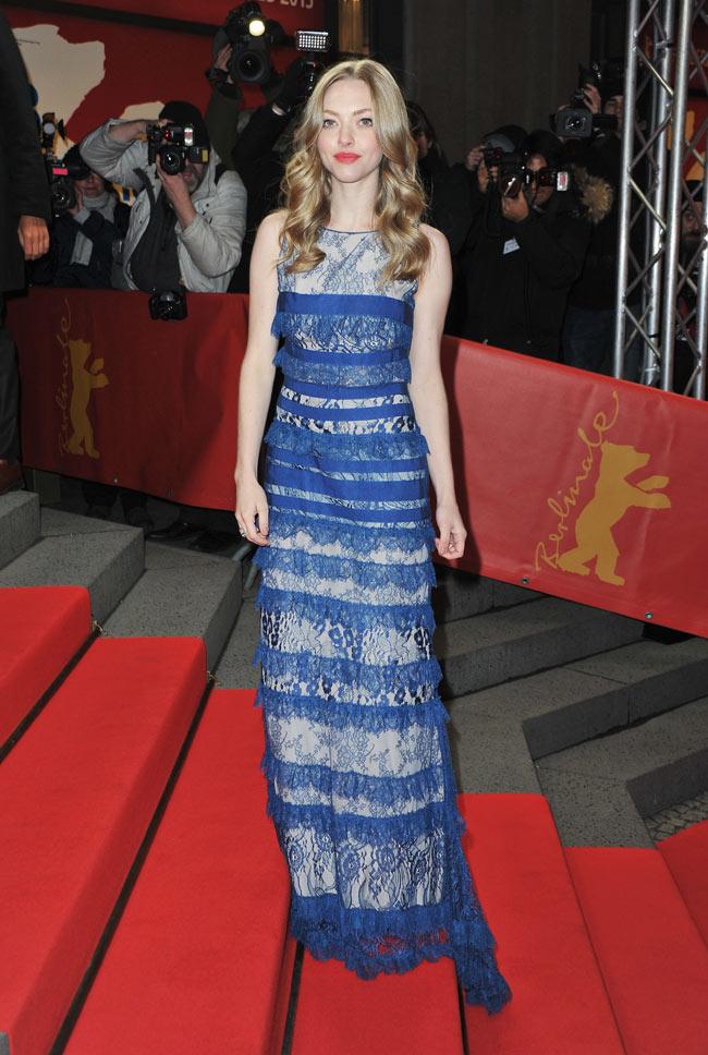 Amanda Seyfried in Elie Saab at the 63rd Berlinale International Film Festival