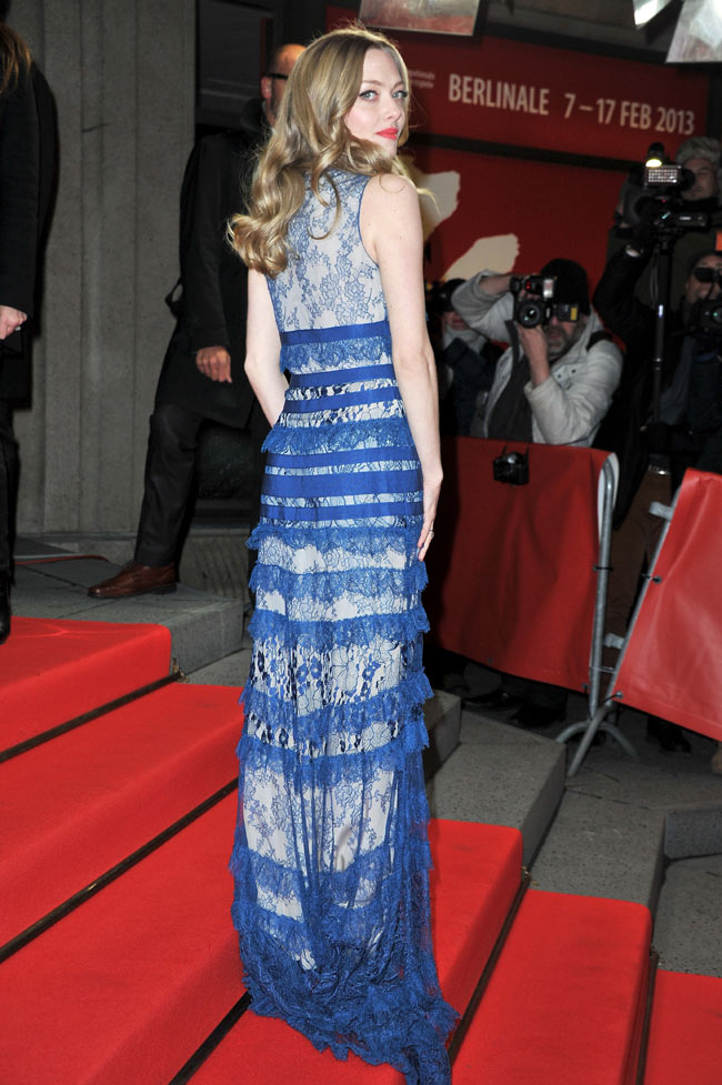 Amanda Berlin4 Amanda Seyfried in Elie Saab at the 63rd Berlinale International Film Festival