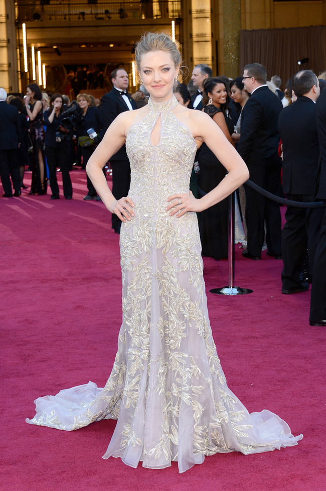 Amanda McQueen1 Amanda Seyfried in Alexander McQueen at the 85th Annual Academy Awards