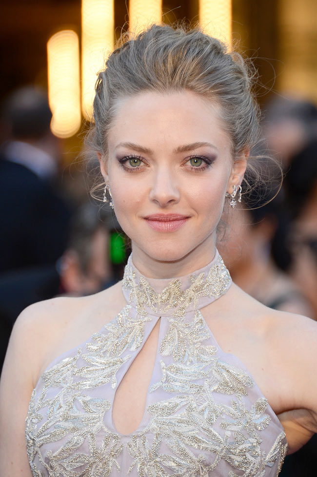 Amanda McQueen3 Amanda Seyfried in Alexander McQueen at the 85th Annual Academy Awards