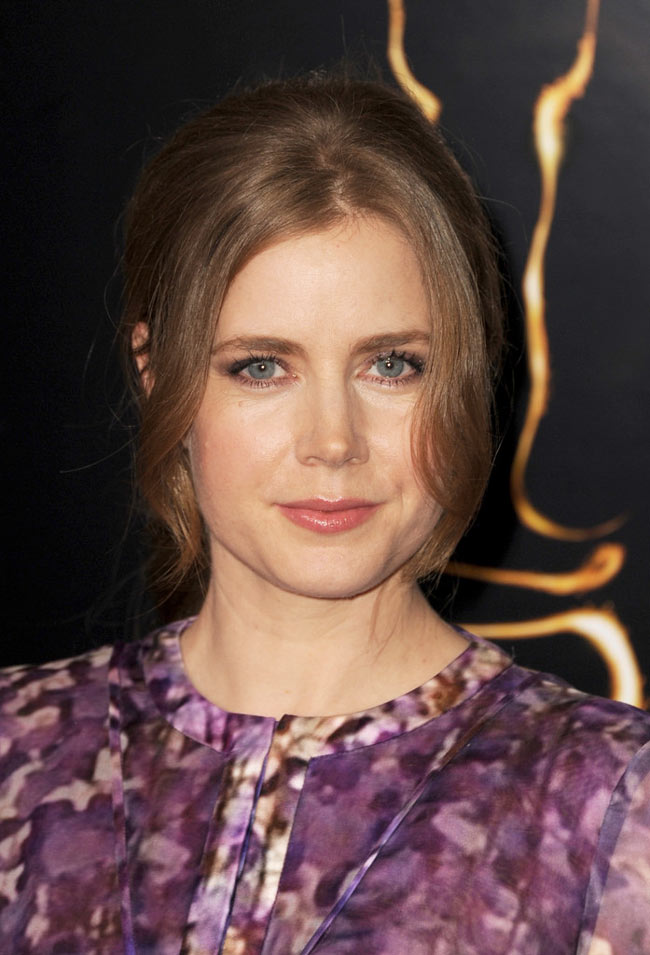 Amy Adams in J. Mendel at the 85th Annual Academy Awards Nominees Luncheon
