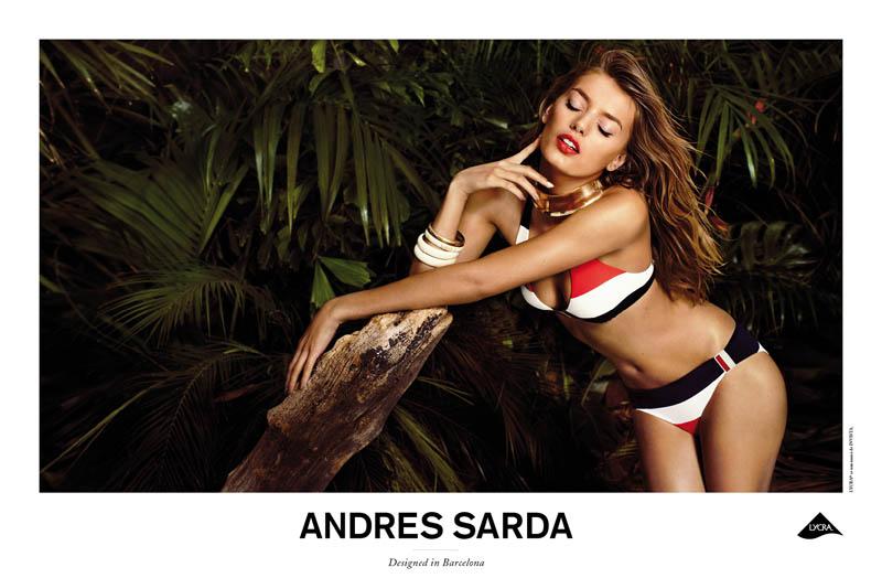 Andres Sardra4 Bregje Heinen Smolders in Andres Sarda Spring 2013 Campaign by Sergi Pons