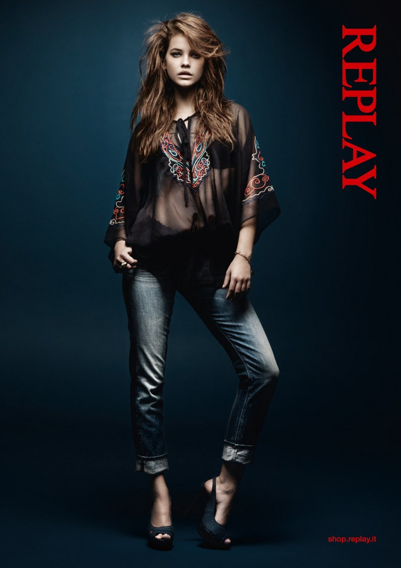 Barbara Replay1 Barbara Palvin Stars in Replays Spring 2013 Campaign