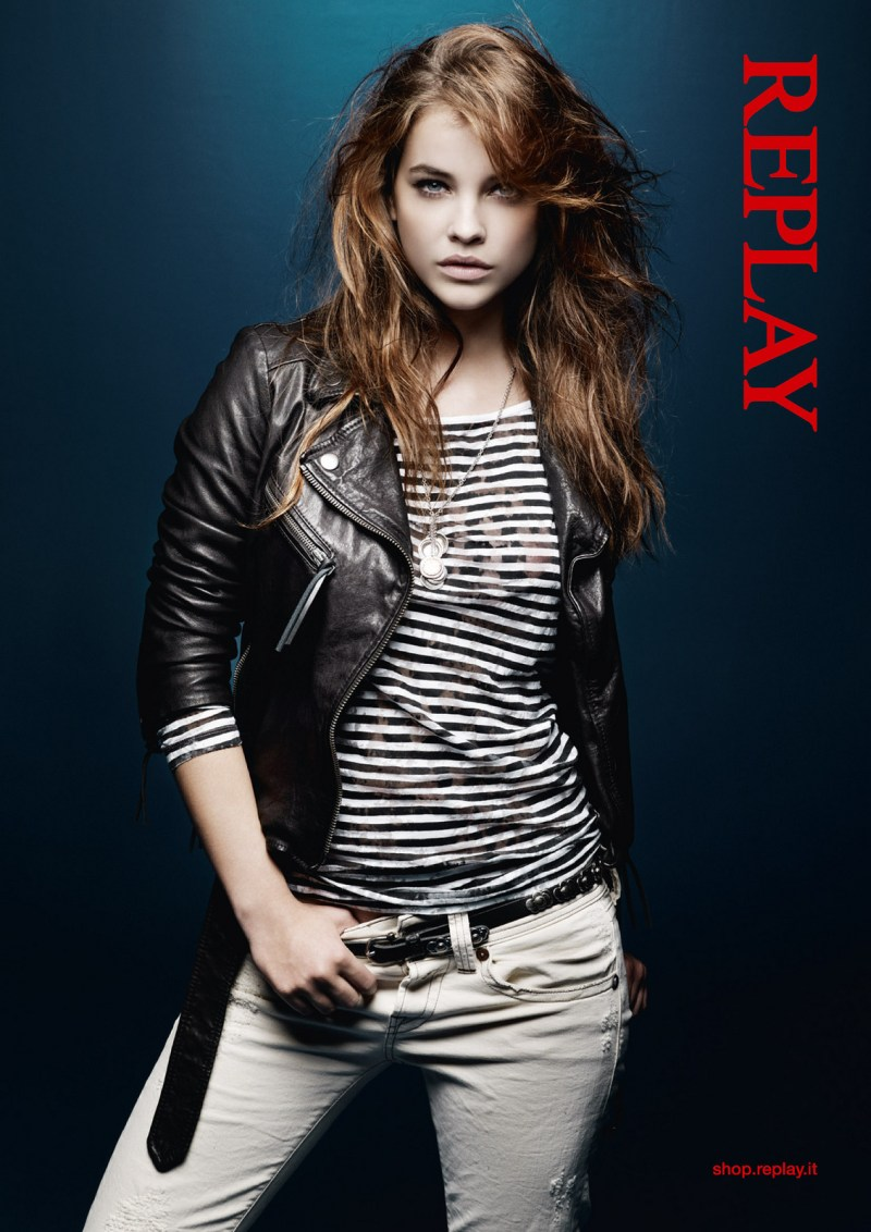 Barbara Replay3 Barbara Palvin Stars in Replays Spring 2013 Campaign