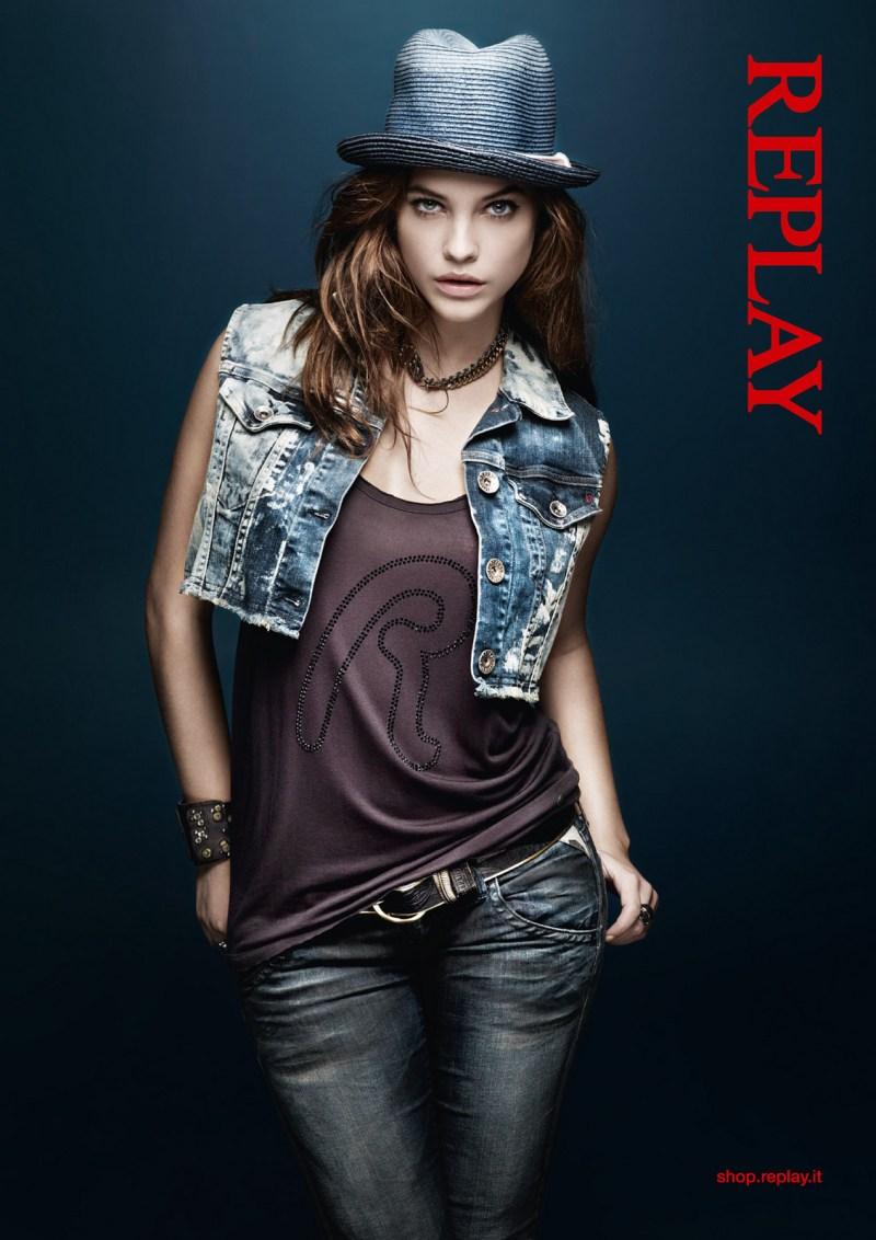 Barbara Replay4 Barbara Palvin Stars in Replays Spring 2013 Campaign