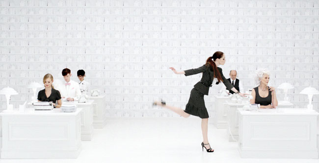 COCO TV 02 See Coco Rocha Dance in White House Black Markets Spring 2013 Film