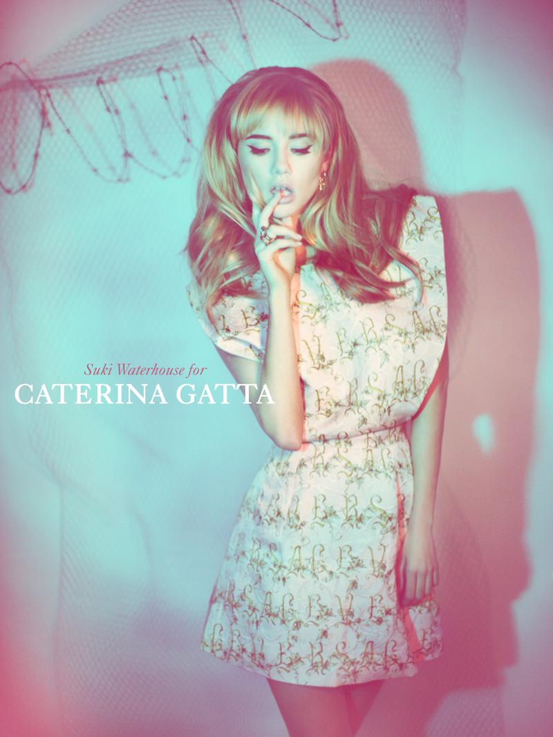 Suki Waterhouse Seduces in Caterina Gatta Spring 2013 Campaign by Paolo Santambrogio