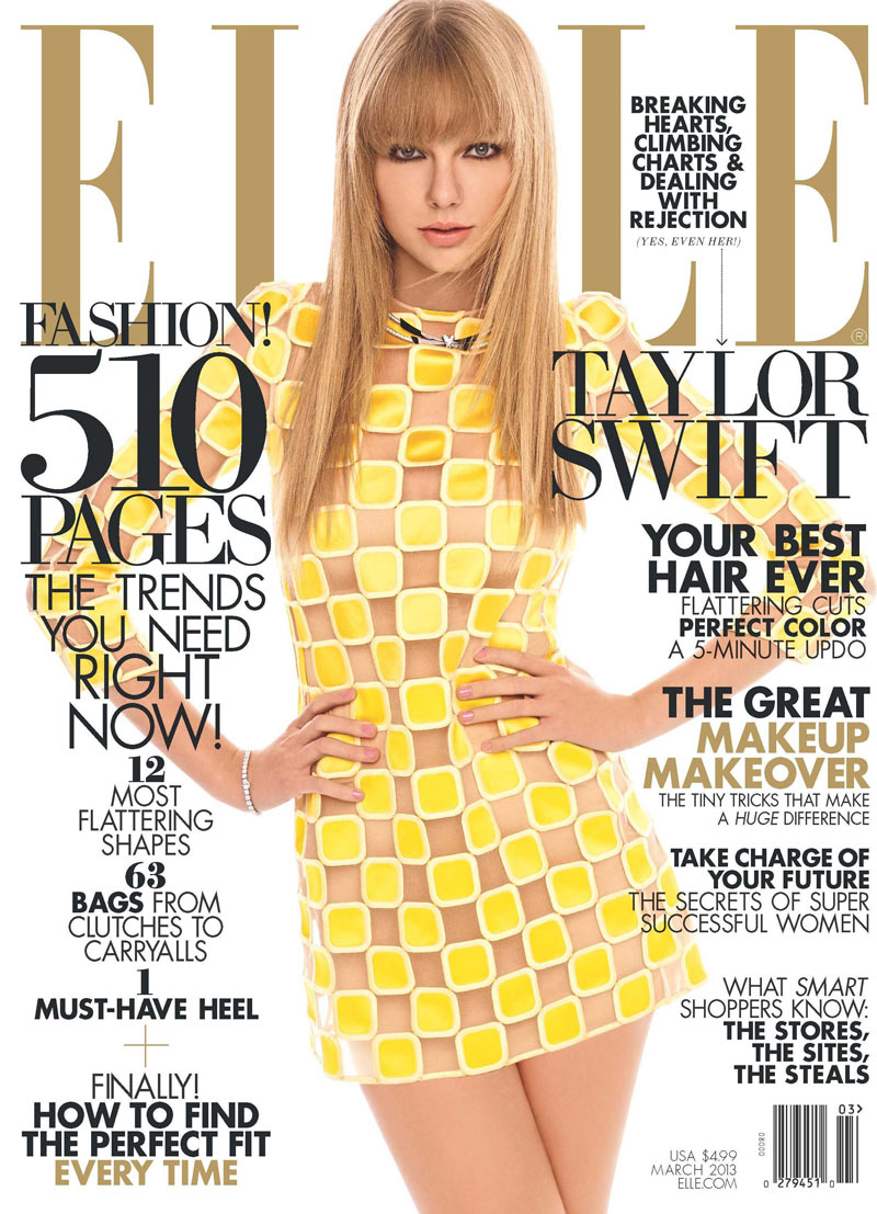 ELLE March 13 Taylor Swift Taylor Swift Covers Elle US March 2013 Issue in Louis Vuitton