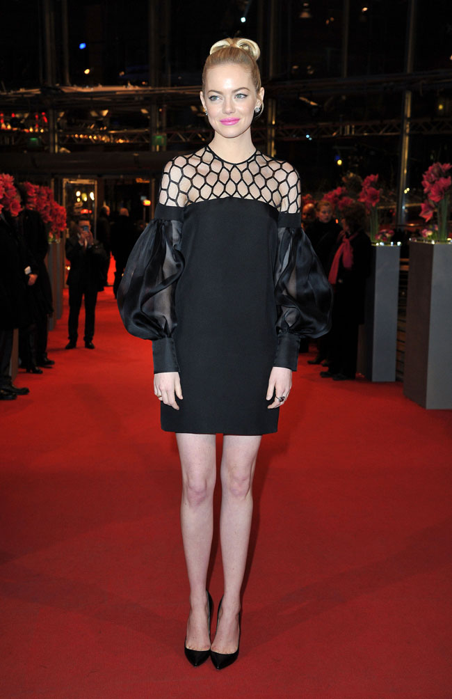 Emma Gucci2 Emma Stone in Gucci at The Croods Premiere at the 63rd Berlinale Film Festival