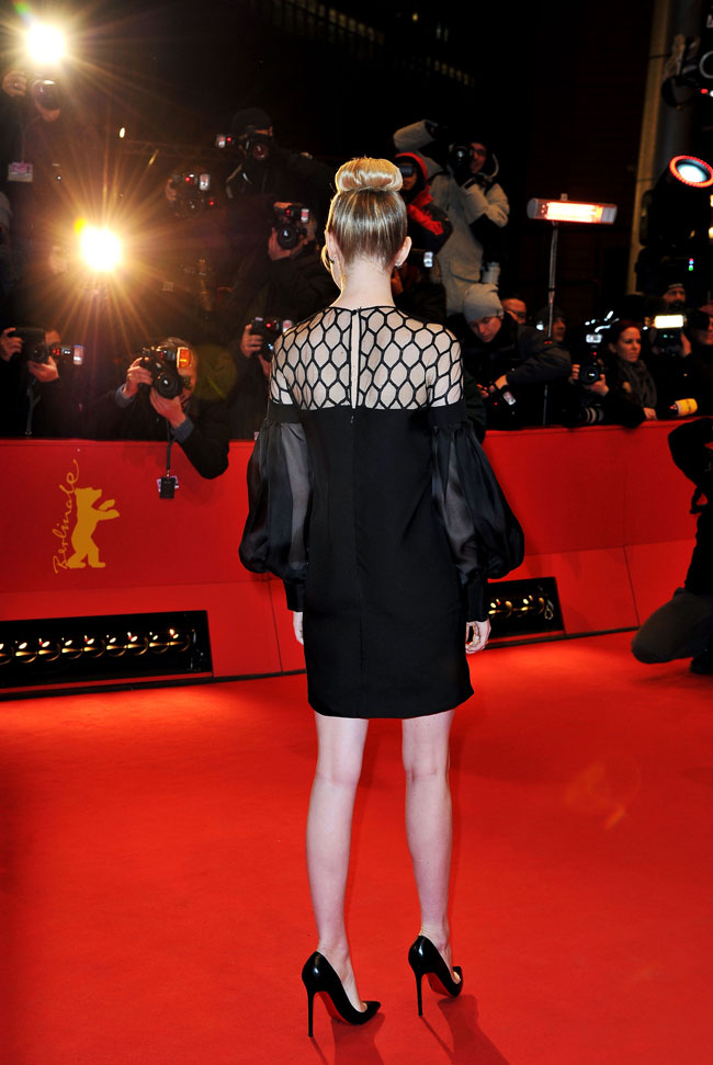 Emma Gucci4 Emma Stone in Gucci at The Croods Premiere at the 63rd Berlinale Film Festival