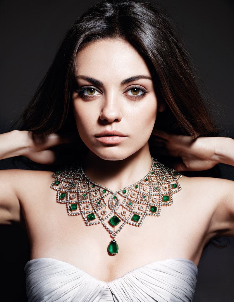 GEMFIELDS Mila Kunis 2013 Campaign Mila Kunis Named as the New Face of Gemfields Campaign