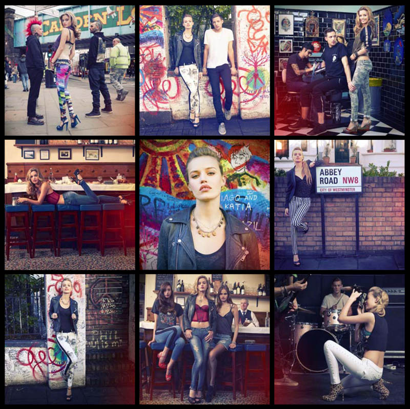 HudsonJeans8 Georgia May Jagger Stars in Instagram Inspired, Hudson Jeans Spring 2013 Campaign