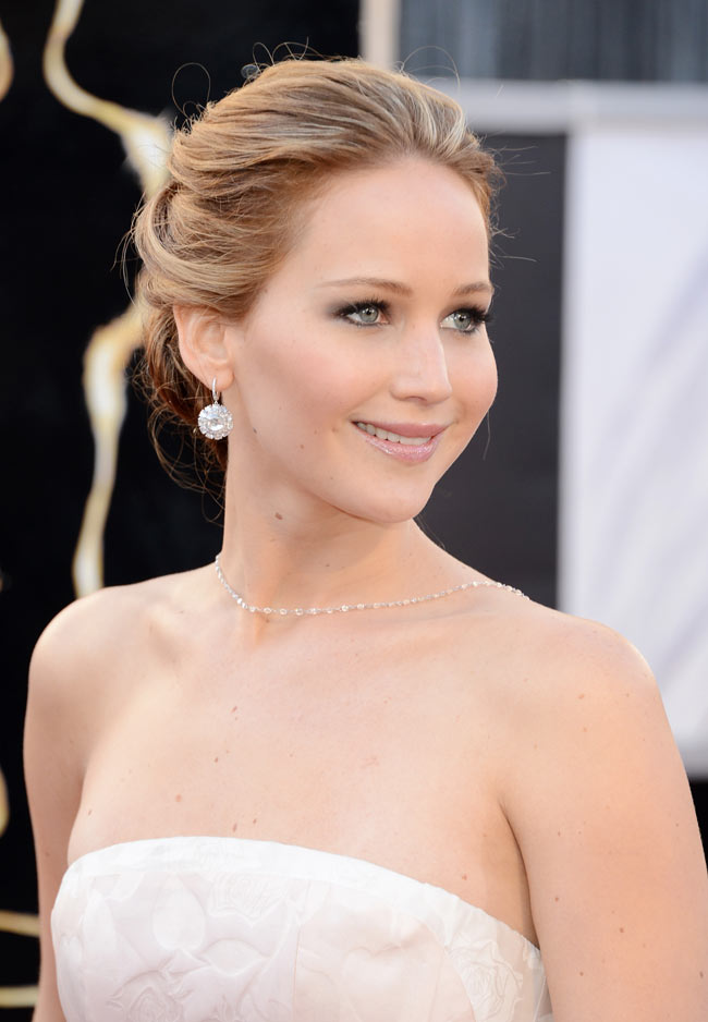 J Law Oscars3 Jennifer Lawrence in Dior Haute Couture at the 85th Annual Academy Awards