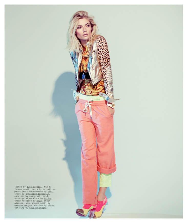 Farah Holt Shines in Urban Style for Nylon's February 2013 Issue by Justin Hollar
