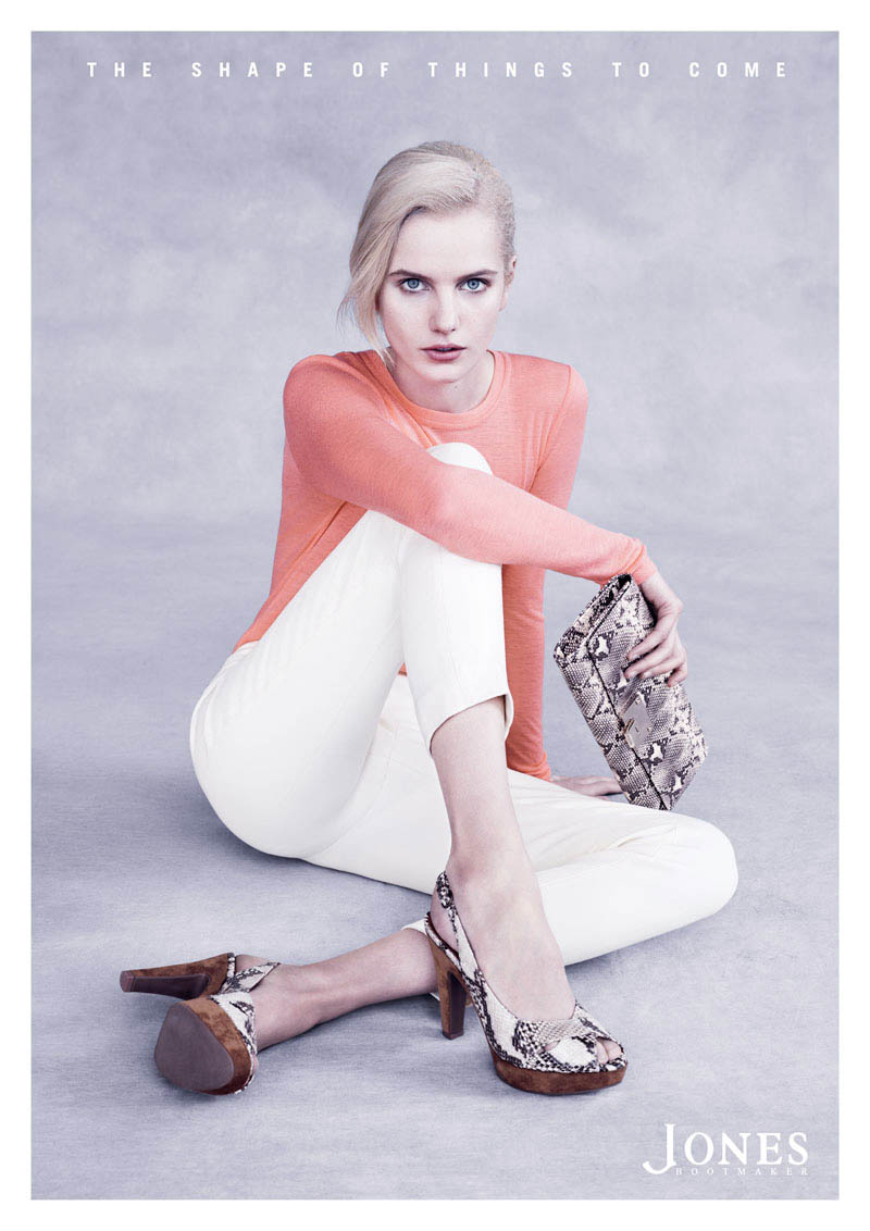 Jones2 Anmari Botha Stars in Jones Bootmaker Spring 2013 Campaign by Ben Weller