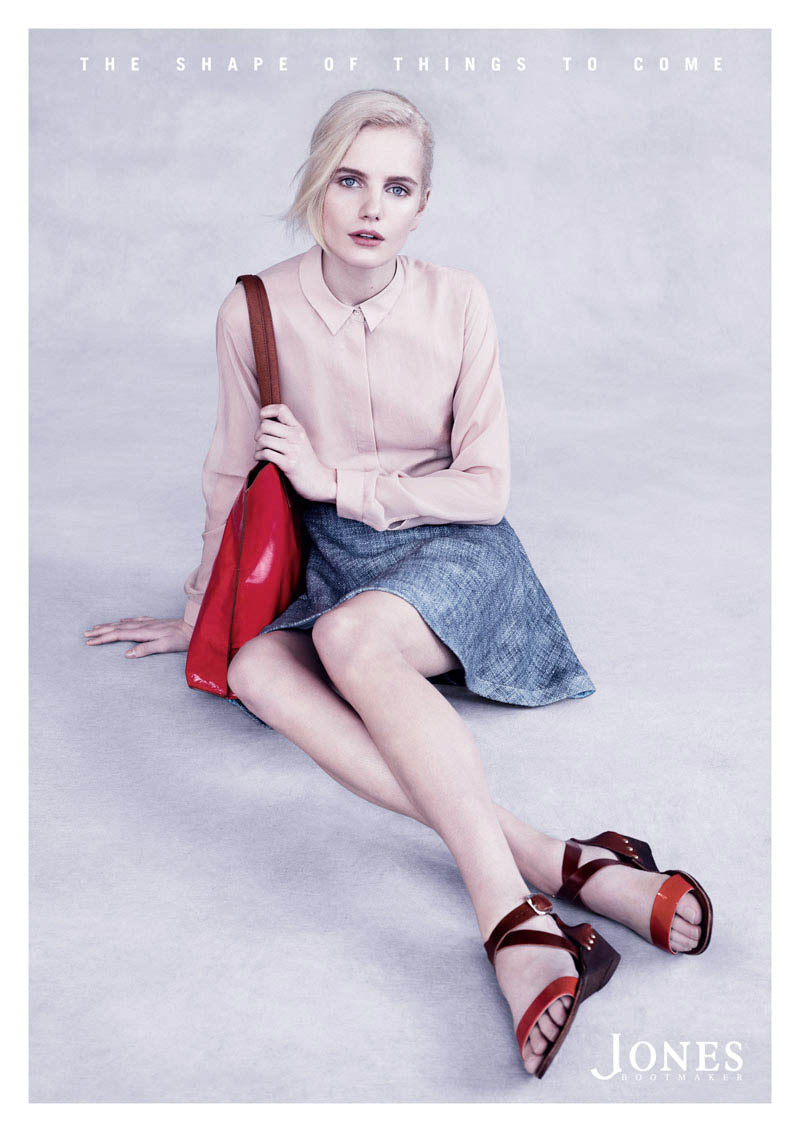Jones3 Anmari Botha Stars in Jones Bootmaker Spring 2013 Campaign by Ben Weller