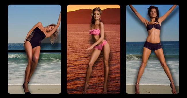 Candice Swanepoel, Natasha Poly and Isabeli Fontana Star in Juicy Couture Spring 2013 Campaign Film
