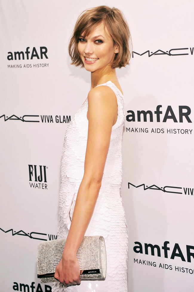Karlie Kors2 Karlie Kloss in Michael Kors at the amfAR New York Gala
