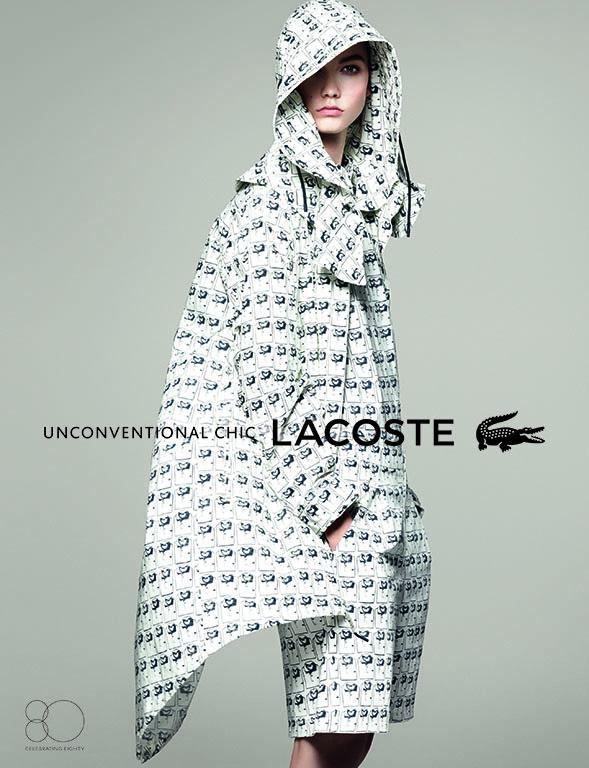 Lacoste Karlie1 Karlie Kloss Gets Sporty for Lacostes Spring 2013 Campaign by David Sims