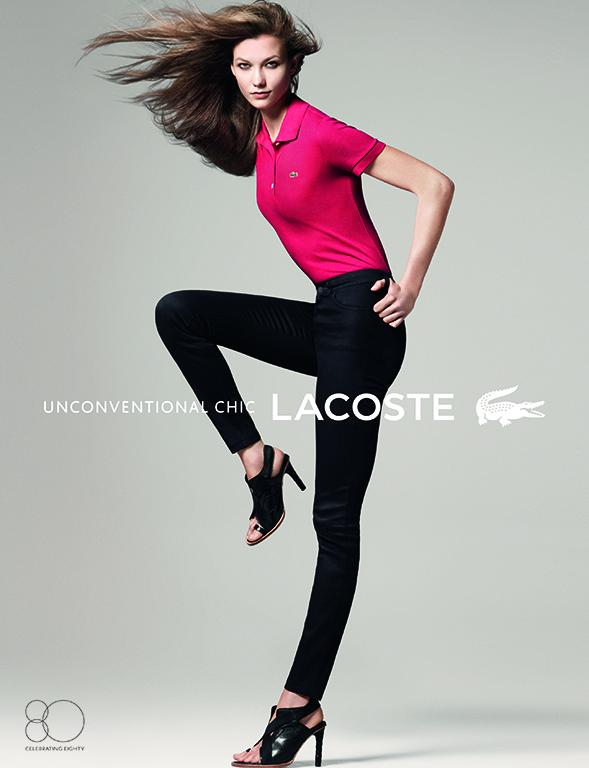 Lacoste Karlie2 Karlie Kloss Gets Sporty for Lacostes Spring 2013 Campaign by David Sims