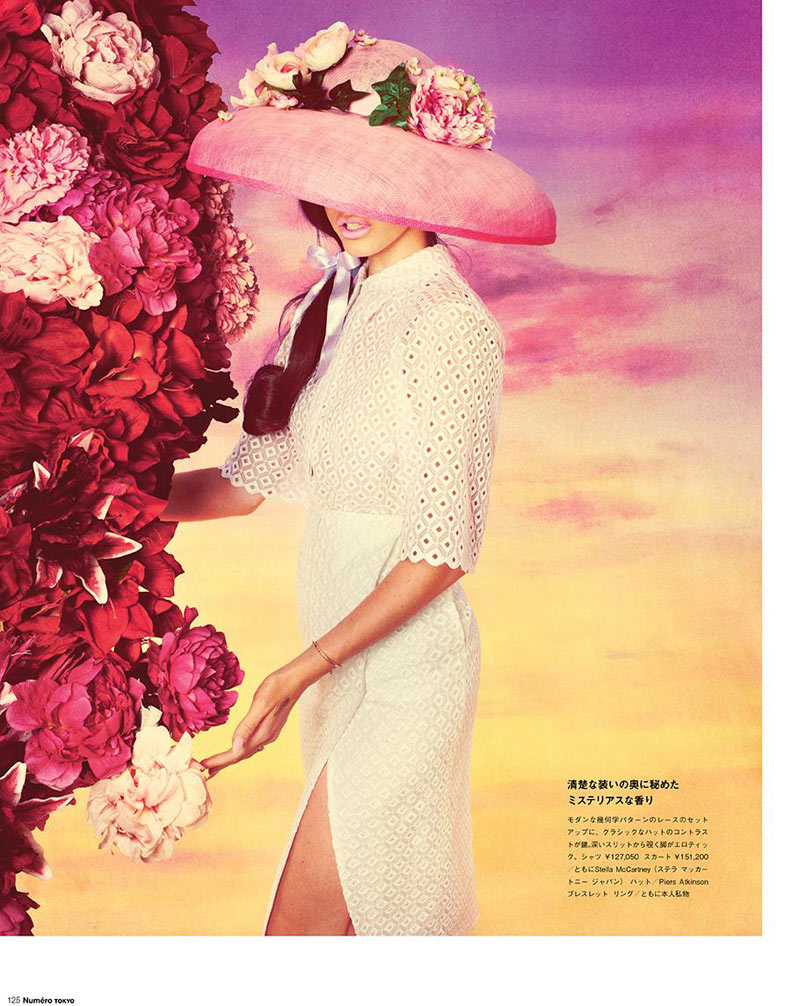 LanaNumeroJP1 Lana Del Rey Stars in Manga Inspired Shoot for Numéro Tokyo by Mariano Vivanco