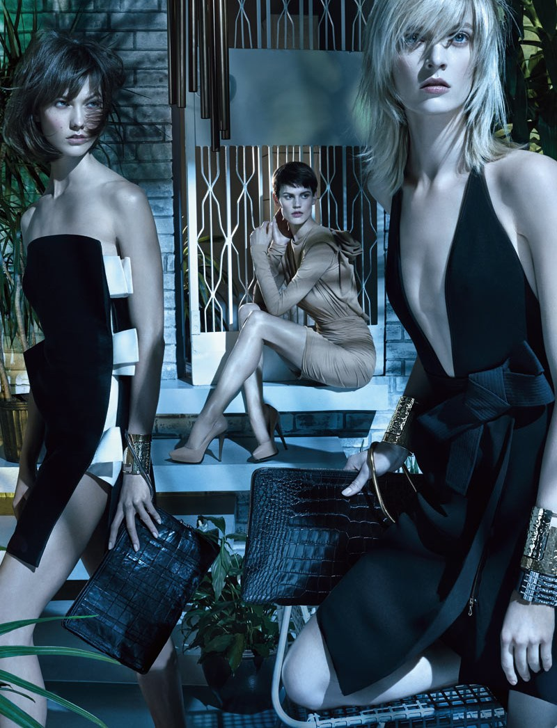 LanvinSpring3 Karlie Kloss, Saskia de Brauw and Daria Strokous Star in Lanvin Spring 2013 Campaign by Steven Meisel