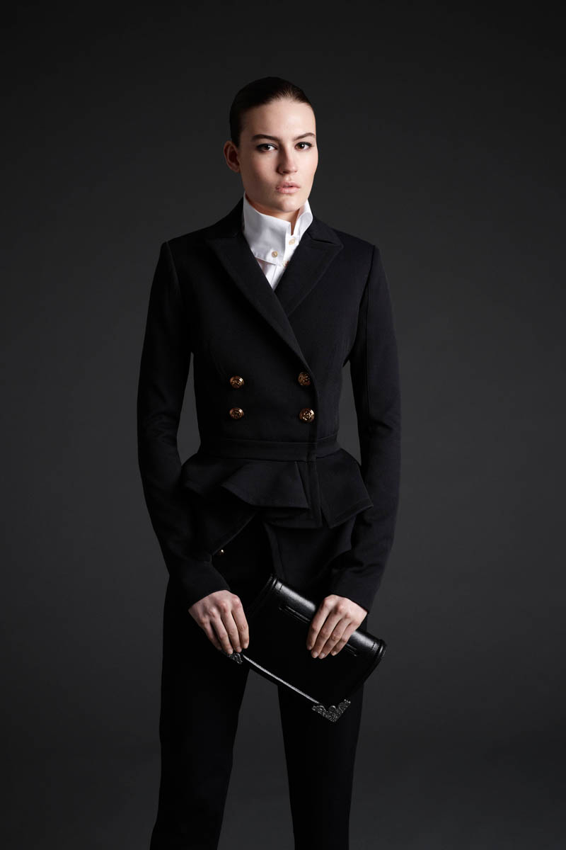 Maria Bradley Models McQ Alexander McQueen's Fall/Winter 2013 Collection
