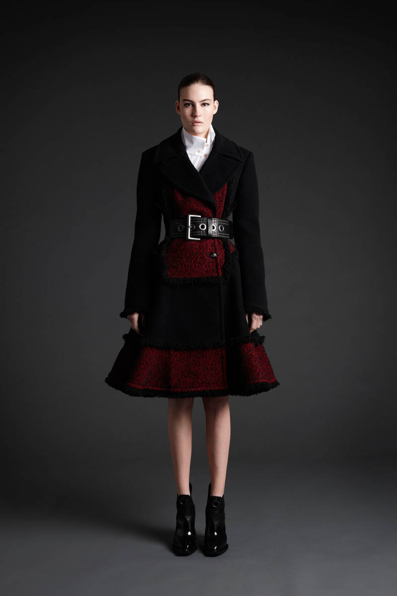 MCQ 03 Maria Bradley Models McQ Alexander McQueens Fall/Winter 2013 Collection