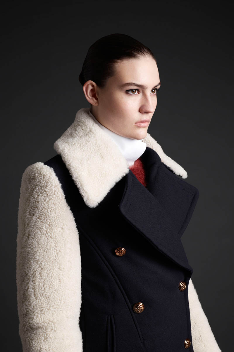 MCQ 05 Maria Bradley Models McQ Alexander McQueens Fall/Winter 2013 Collection