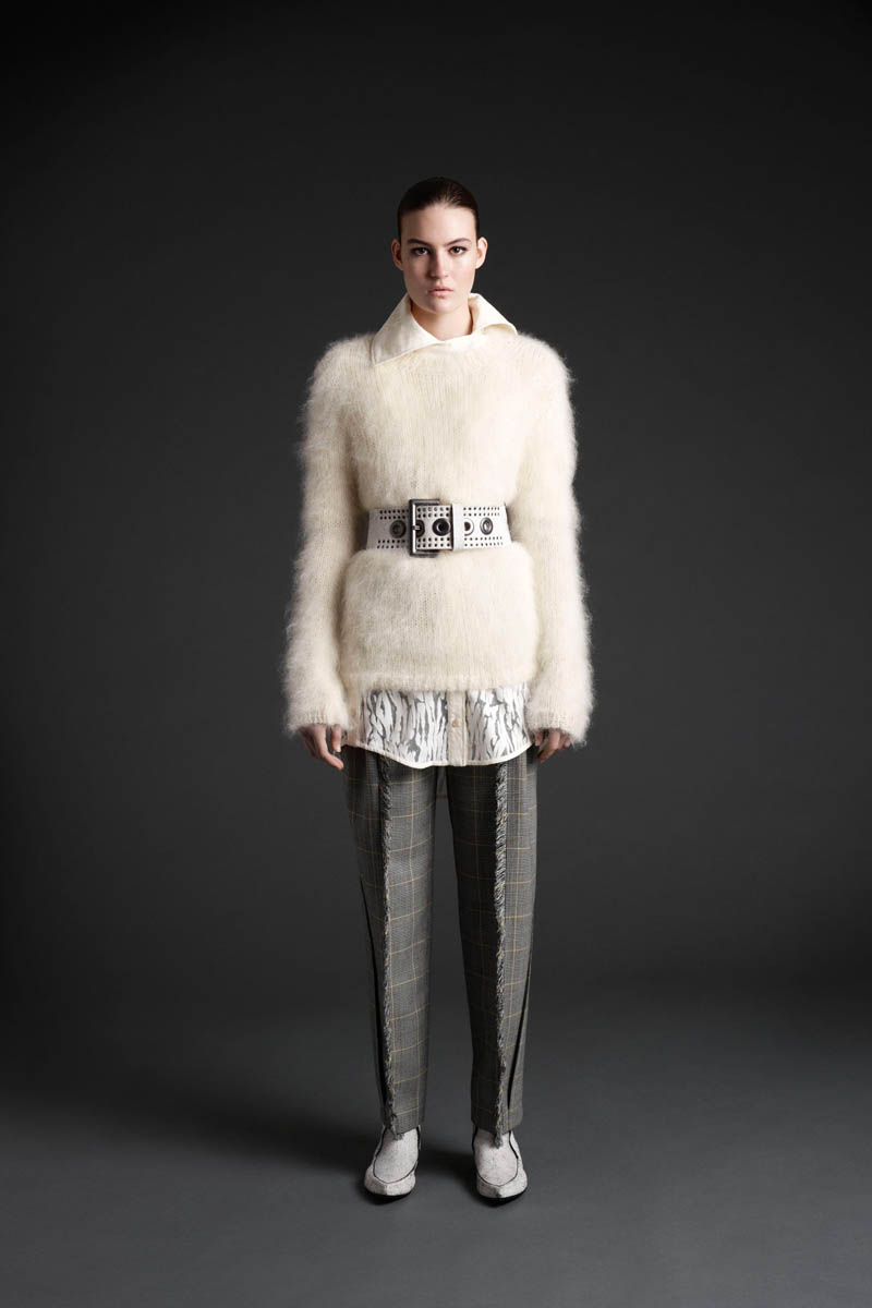 MCQ 08 Maria Bradley Models McQ Alexander McQueens Fall/Winter 2013 Collection