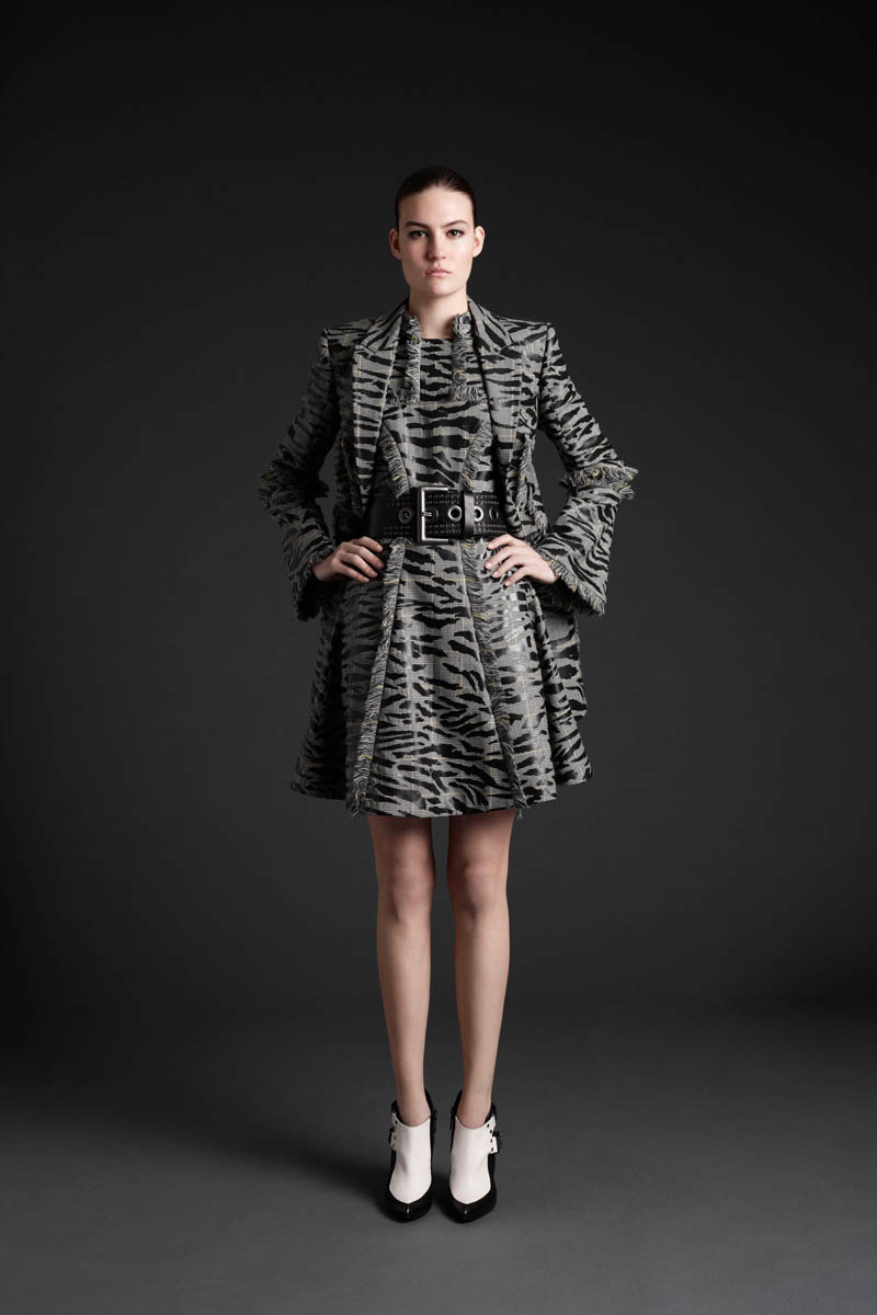 MCQ 10 Maria Bradley Models McQ Alexander McQueens Fall/Winter 2013 Collection