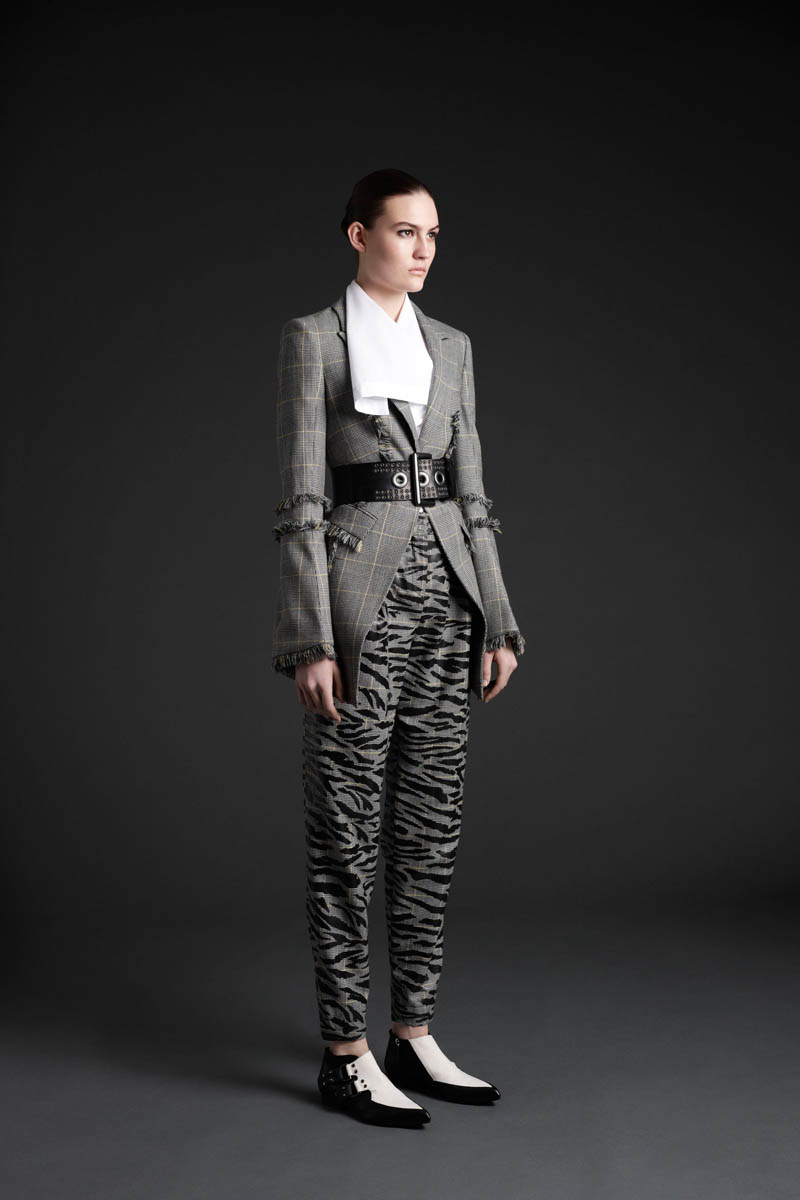 MCQ 11 Maria Bradley Models McQ Alexander McQueens Fall/Winter 2013 Collection