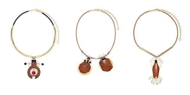 MarniBijoux Marnis Wooden Jewelry for Spring/Summer 2013