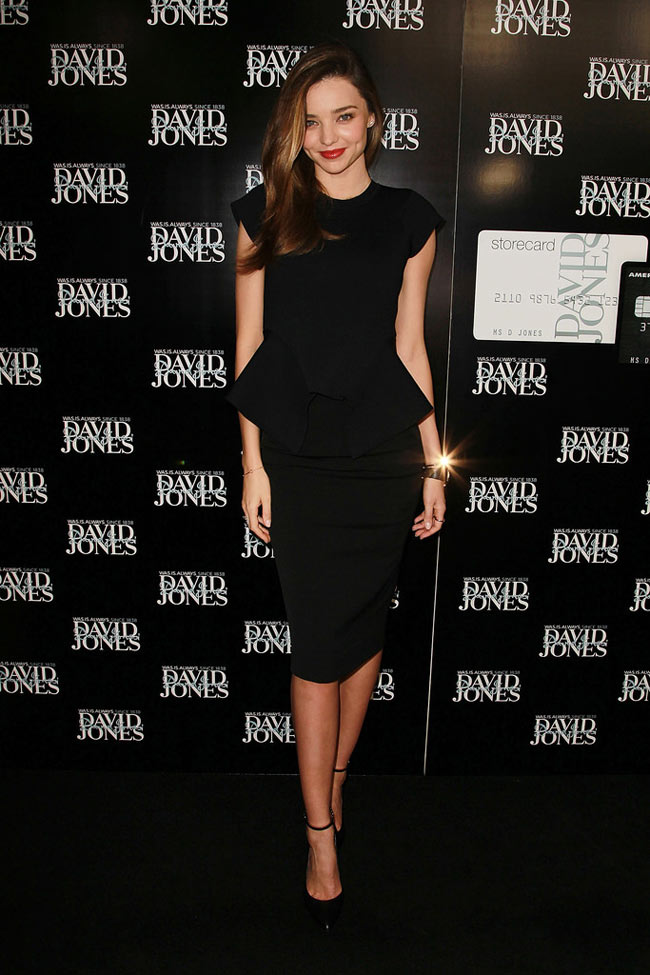 Miranda Aus1 Miranda Kerr in Scanlan & Theodore at David Jones Fashion Workshop