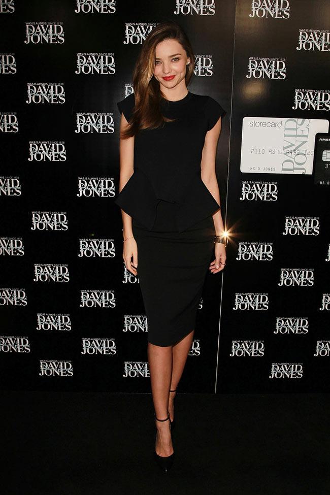 Miranda Kerr in Scanlan & Theodore at David Jones Fashion Workshop